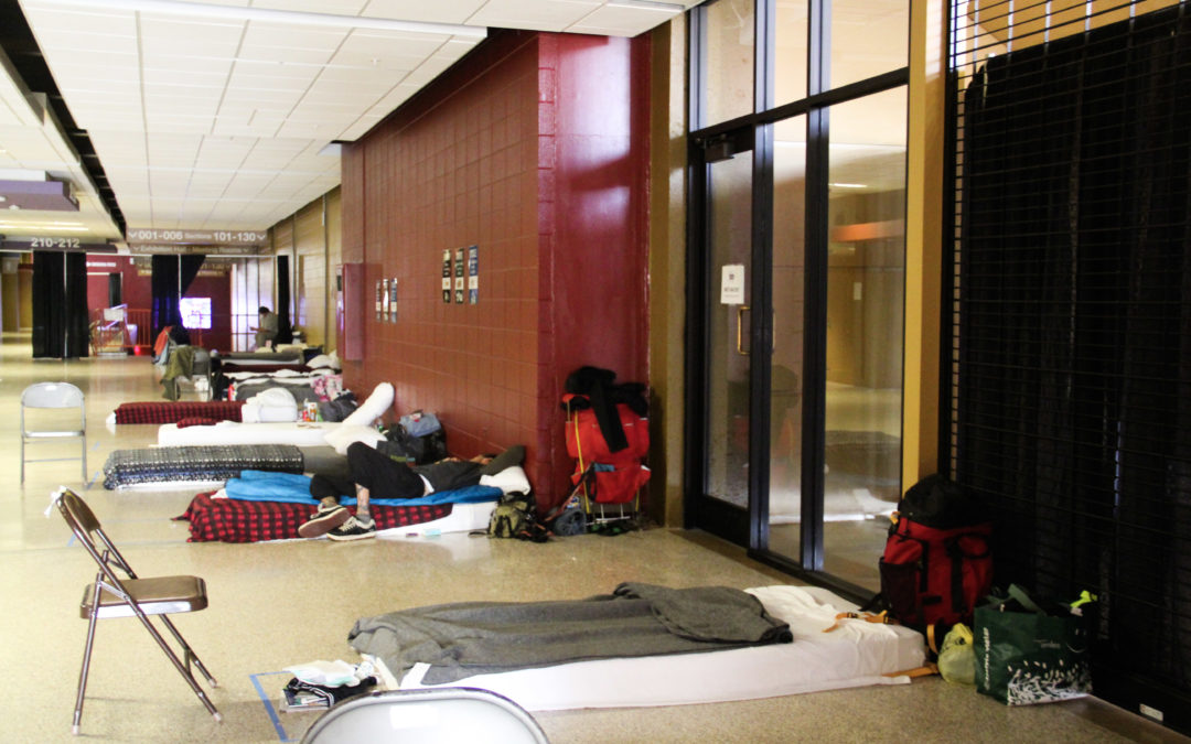 Homeward Bound Opens Emergency Shelter in Harrah's Cherokee Center – Asheville